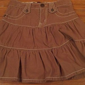 Retro gap corduroy skirt size 3T